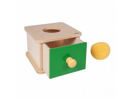 Box na vkládání háčkovaného míčku