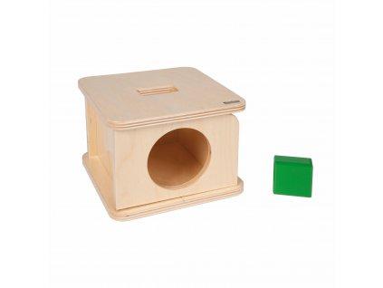 Box na vkládání čtyřbokého hranolu