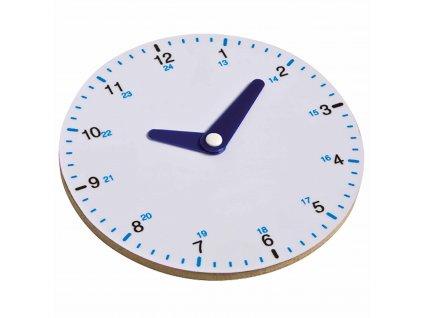 Cvičné hodiny - 24hodinový ciferník