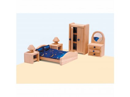 Domeček pro panenky – ložnice rodičů