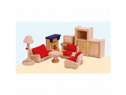 Domeček pro panenky – obývací pokoj