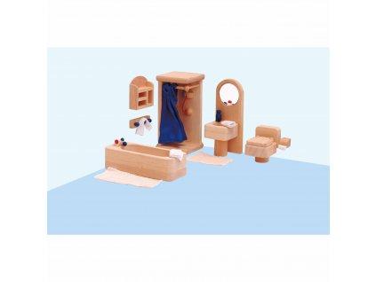 Domeček pro panenky – koupelna
