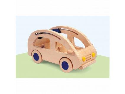 Domeček pro panenky – auto
