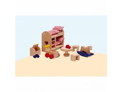 Domeček pro panenky – dětský pokoj