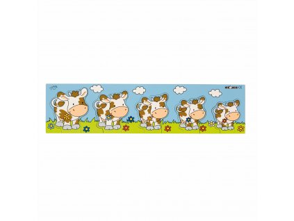 Pattern inlay board cow