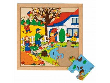 Puzzle Roční období - podzim
