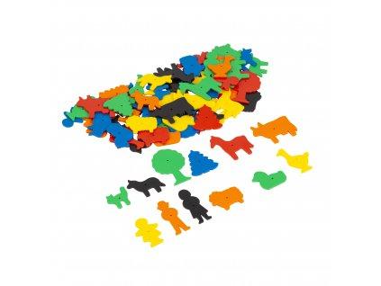 Happy hammer plastic farmyard figures