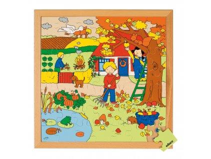 Puzzle Roční období 2 - podzim (49 dílků)