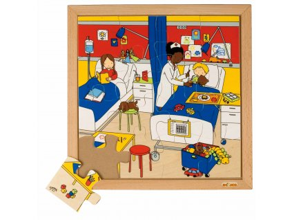 My Health puzzles - the hospital