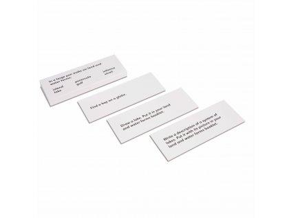 Karty s úkoly k tvarům pevniny a vodních ploch – sada 1