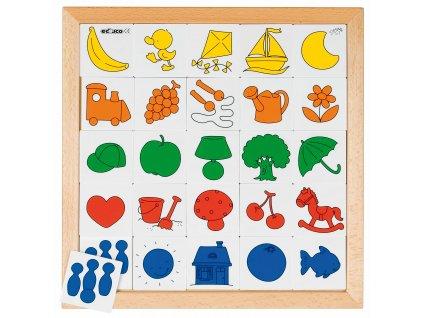 Loto Porozumění 2: barevné bloky