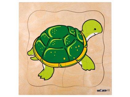 Vývojové puzzle - želva
