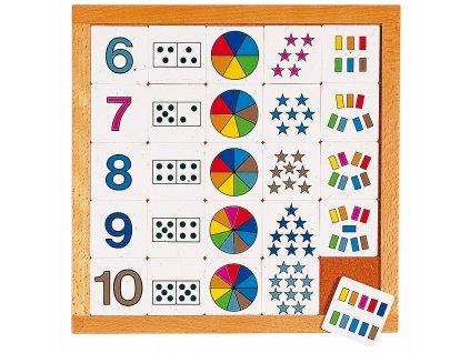 Počítací diagram (6-10)