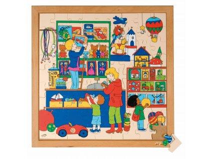 Series 81 puzzles - toy shop