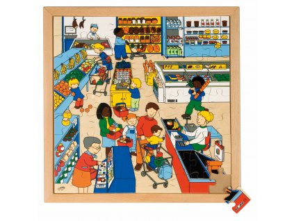 Series 81 puzzles - supermarket