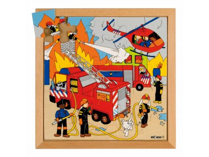 Street Action puzzles - fire (25 pieces)