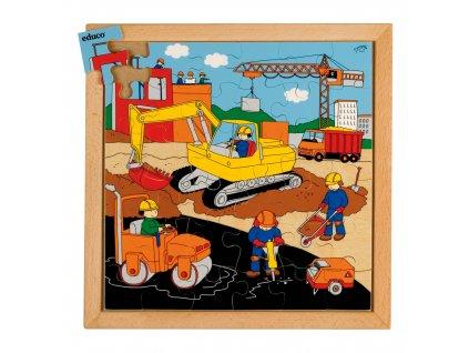 Street Action puzzles - roadbuilding (36 pieces)