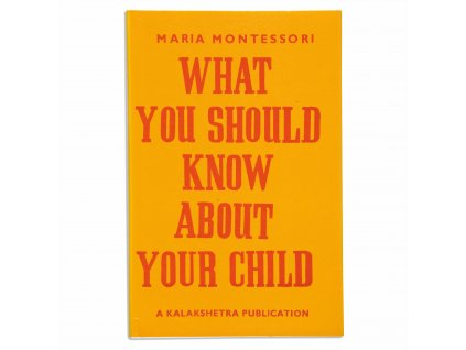 BOOK WHAT YOU SHOULD KNOW ABOUT YOUR CHILD (1993)