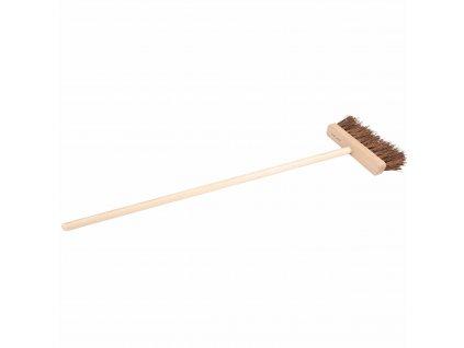 Street broom (outdoors)