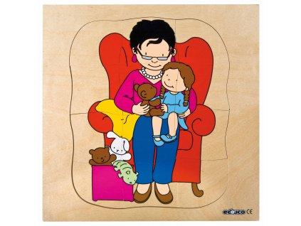 Vývojové puzzle - babička
