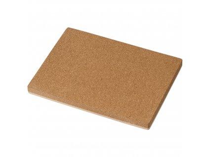 Happy hammer: cork board with plastic card
