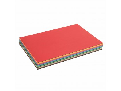 Coloured craft paper 120 gms 26 x 32,5 cm, pack of 180 sheets, 18 colours