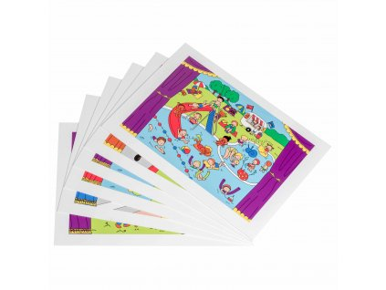 Story sheets - for the Puppet story theatre (522182)