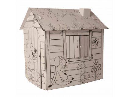 Domeček z kartonu