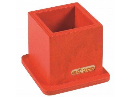 Desk tidy red