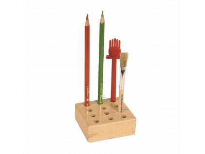 Stojánek na tužky / štětce, 12 otvorů