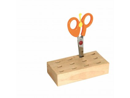 Stojánek na nůžky, 12 otvorů