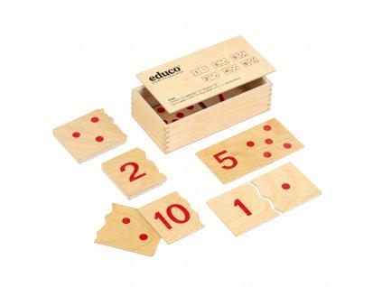 Puzzle čísla 1 – 10