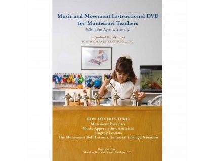 Music And Movement Instructional DVD For Montessori Teachers