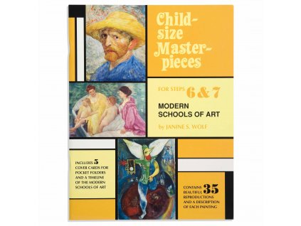 BOOK CHILD-SIZE MASTERPIECES MODERN SCHOOLS OF ART