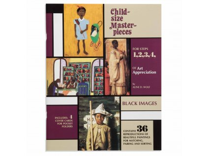 BOOK CHILD-SIZE MASTERPIECES BLACK IMAGES