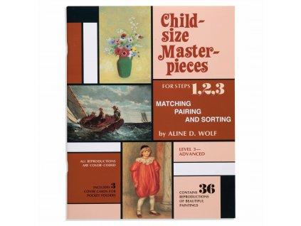 BOOK CHILD-SIZE MASTERPIECES ADVANCED - LEVEL 3