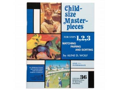 BOOK CHILD-SIZE MASTERPIECES INTERMEDIATE – LEVEL 2