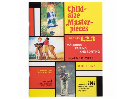 BOOK CHILD-SIZE MASTERPIECES EASY – LEVEL 1