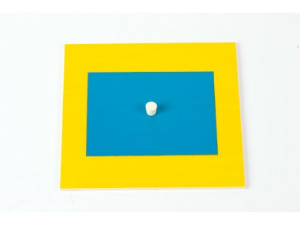 Geometric Cabinet Inset: Rectangle 8 x 10