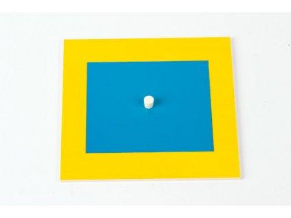 Geometric Cabinet Inset: Rectangle 9 x 10