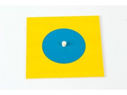 Geometric Cabinet Inset: Circle 8 cm