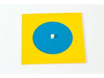 Geometric Cabinet Inset: Circle 9 cm