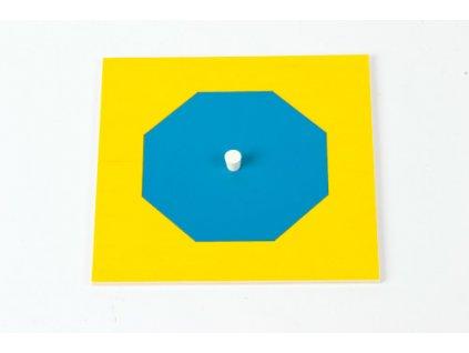 Geometric Cabinet Inset: Octagon