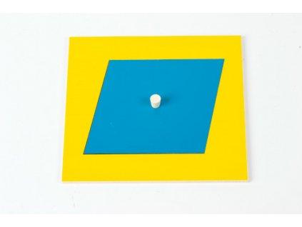 Geometric Cabinet Inset: Rhombus 9.2 x 9