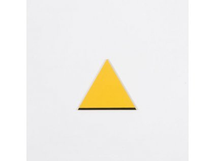 Rectangle Box: Equilateral Triangle - Yellow _