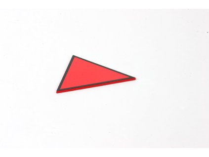 Triangle Box: Equilateral Triangle - Red /\