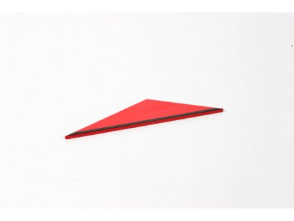 Rectangle Box: Small Scalene Triangle - Red _