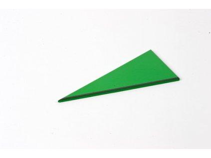 Rectangle Box: Right-Angled Scalene Triangle - Green - |
