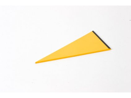 Rectangle Box: Small Scalene Triangle - Yellow