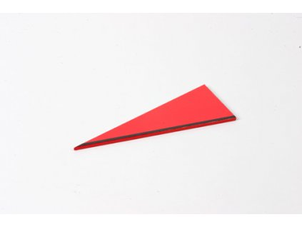 Rectangle Box: Large Scalene Triangle - Red |